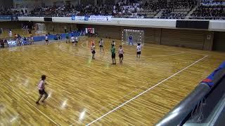 8日 ハンドボール女子 あづま総合体育館 Bコート 佼成学園×今治東 準々決勝 2