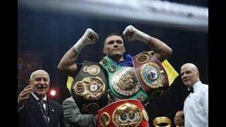 видео Порошенко назвал боксера Усика символом «украинской борьбы»