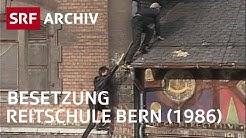 Reitschule Bern (1986) | Geschichte vom Kulturraum Reitschule (IKUR) | SRF Archiv