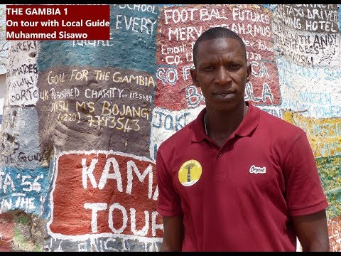The Gambia 1 - On tour with Guide Muhammed Sisawo - Monkey P