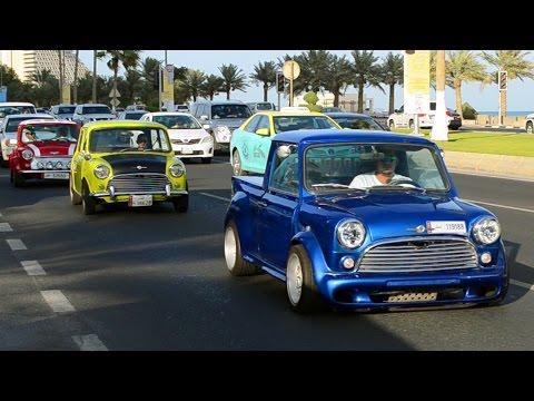 Classic Cars on the Corniche in Ramadan 2015