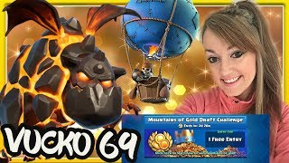 🔴Live Ladder Gameplay with Lava Loon Deck+5200 Vucko69🔴Gold Draft Challenge by Me|🔴Clash Royale🔴