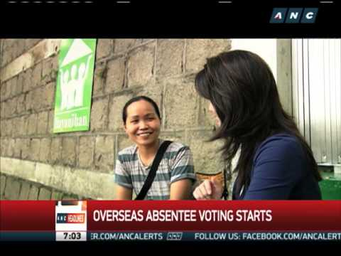 WATCH: Cathy Yang chats with 1st overseas voter in queue in HK