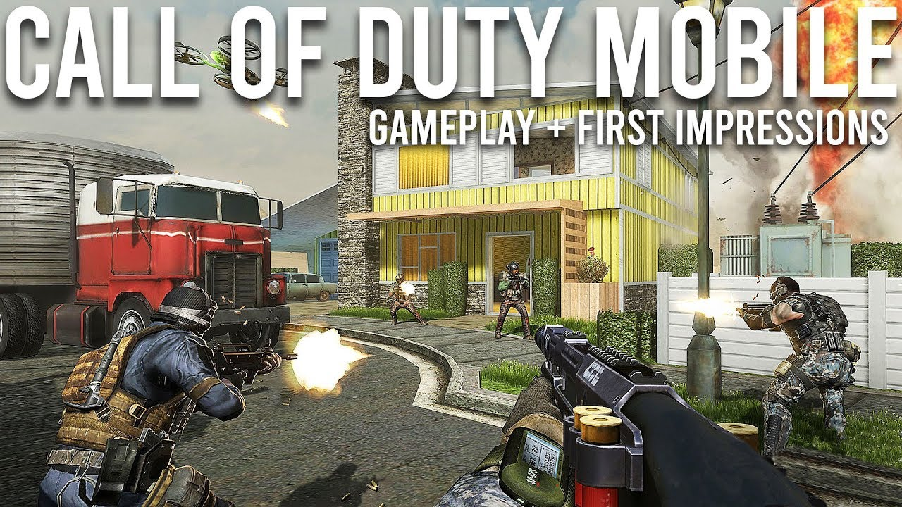 Call of Duty Mobile Gameplay + Impressions