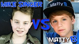 Mike Singer VS MattyB - Boyfriend (Justin Bieber cover)