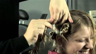 Instructions on Rolling Hair for Perms : Perm Solutions
