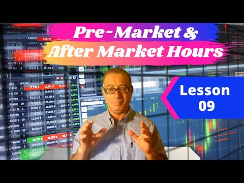 What are Premarket and Aftermarket Extended Hours Trading?