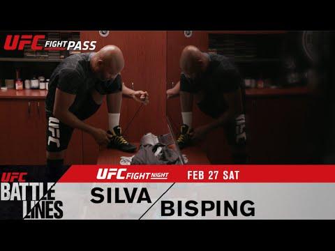 UFC Battle Lines: Silva vs Bisping