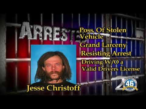 10/16/2017 Nye County Sheriff's Office Arrest Christoff