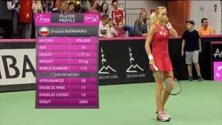 Highlights: Urszula Radwanska (POL) v Timea Bacsinszky (SUI)