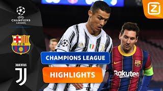 STRIJD TUSSEN LEVENDE LEGENDES! 🤩 | Barcelona vs Juventus | Champions League 202