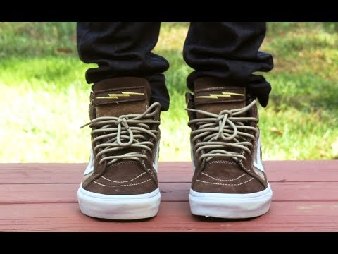 ON FEET  Vans x DEFCON Sk8 Hi Notchback  WeAreTheTrend - YouTube b9b5911ef