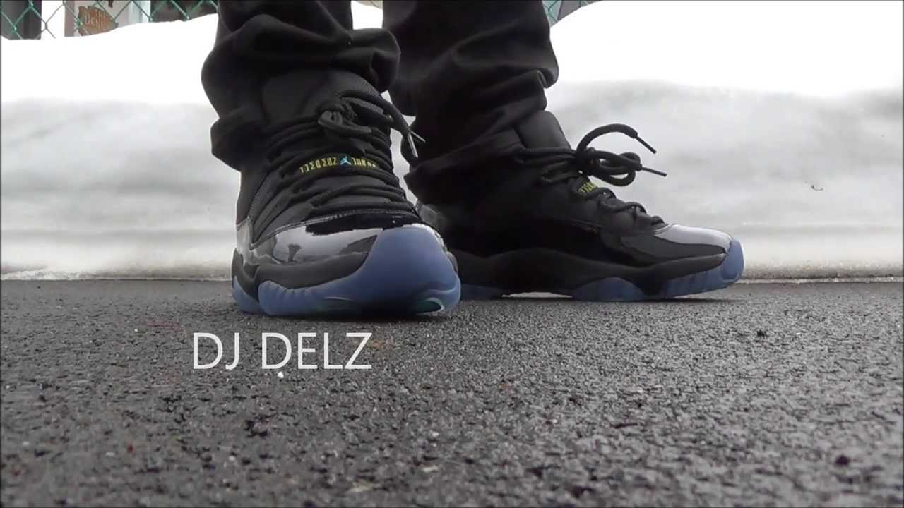 ... where to buy air jordan 11 gamma blue xi sneaker on feet w djdelz did u 6722d1eaa