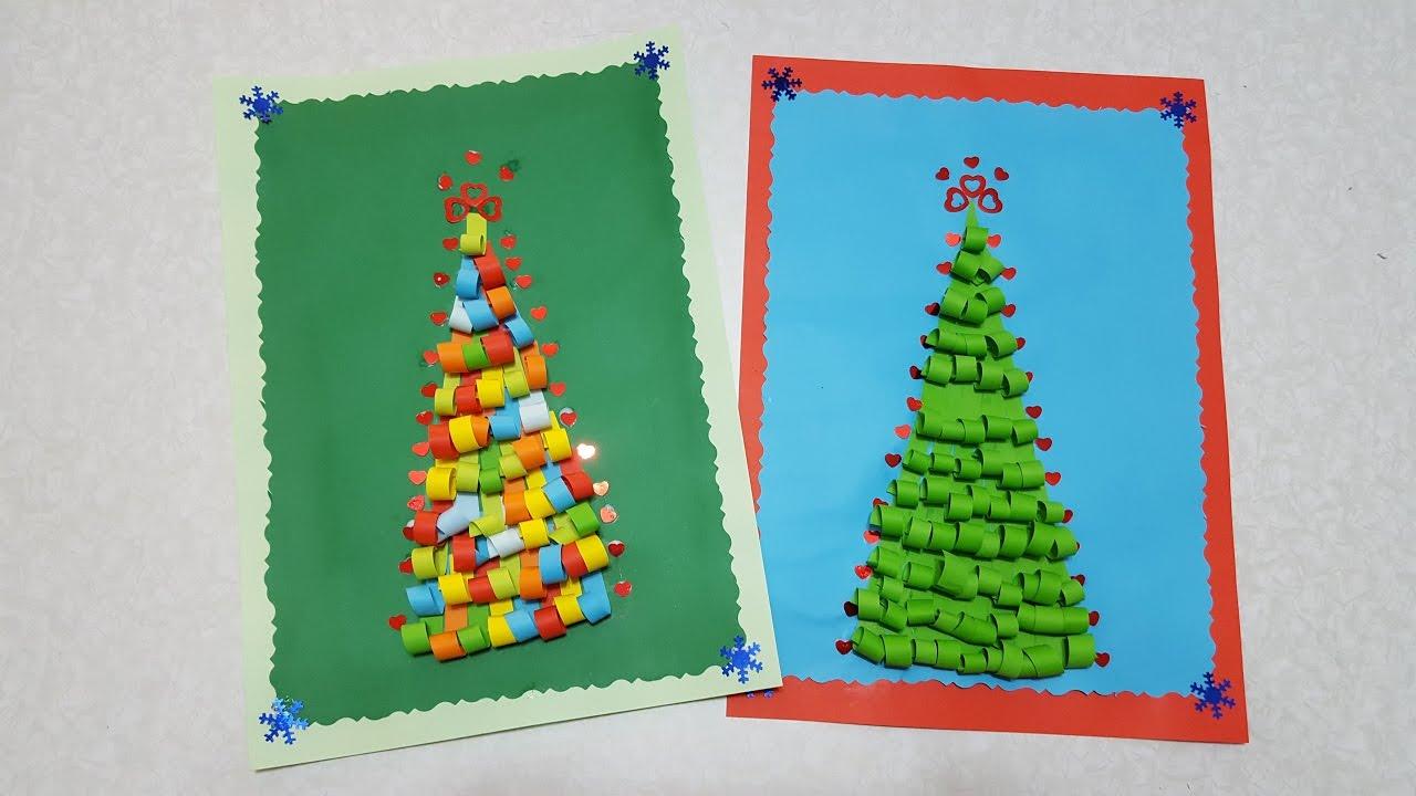 Как сделать елку из цветной фото 350