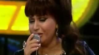 Menzure Musayeva ve Ashiq Zulfiyye Super canli ifa   Sevimli Shou 10 02 2014
