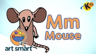 M for Mouse | Art Smart