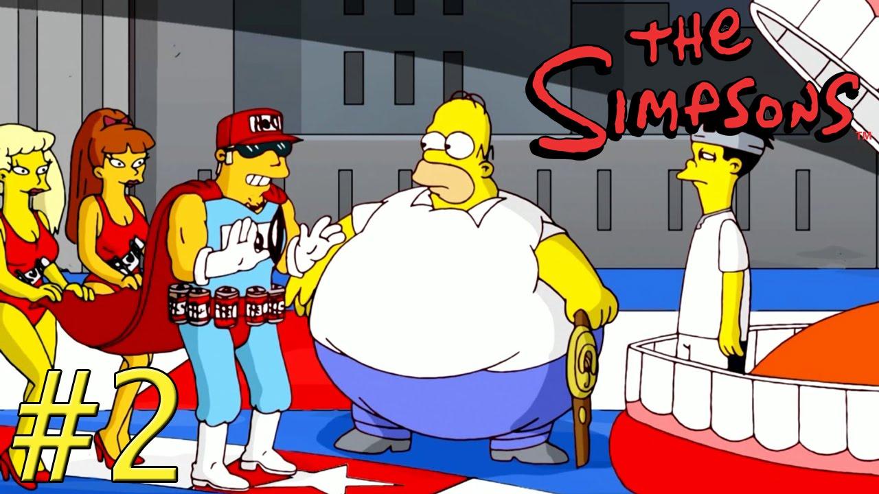 Les simpson le jeu 2 fr youtube - Les simpson tout nu ...