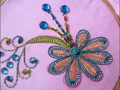 Hand Embroidery Designs Hand Embroidery For Dress Stitch And