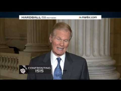 Sen. Nelson on Hardball discussing the authorization of military force against ISIS