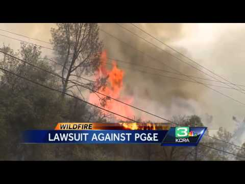 Lawsuit against PG&E claims negligence in Butte Fire