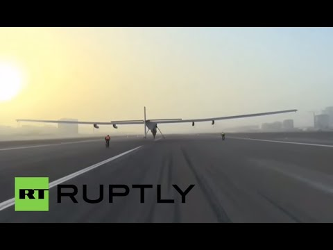 LIVE: Solar Impulse 2 lands in Chongqing