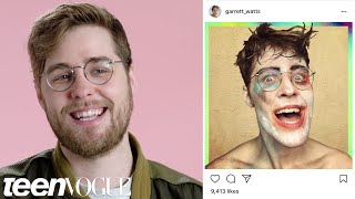 Garrett Watts Reacts to His Old Instagram Photos | Teen Vogue