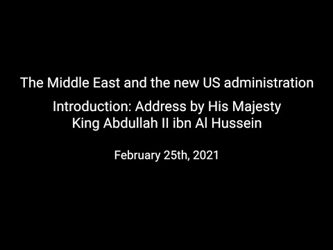 The Middle East And The New US Administration- Day 3, Part 1