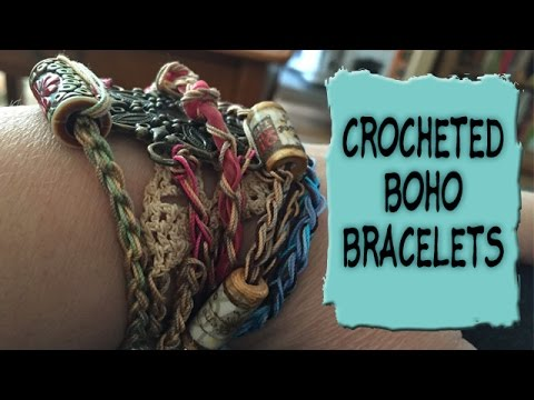 **long-video**-crocheted-boho-bracelets-tutorial