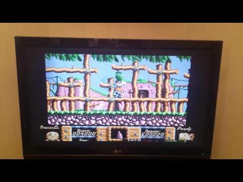 Commodore Amiga On WIIU!! Baby!!!!