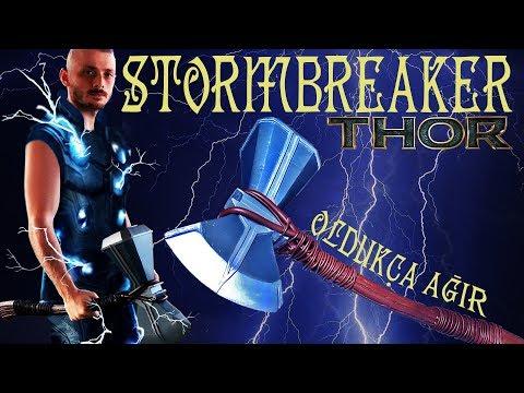 S1B07 Stormbreaker Thor'un Yeni Silahı DIY Avengers: Infinity War