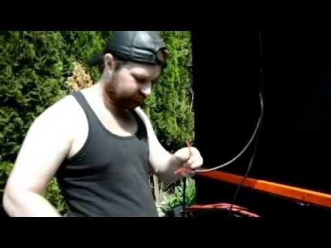 Garage How To and Mods - How To Make Solar Power Utility Trailer Shed EP 9