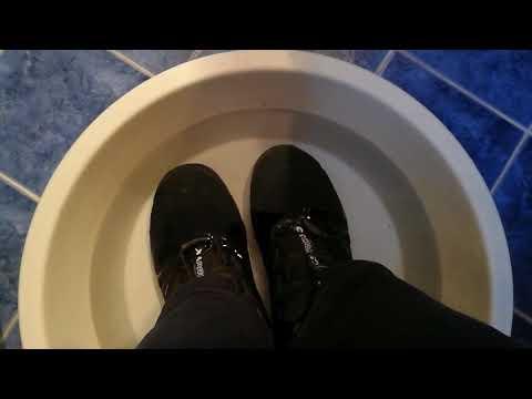Salomon XA Pro 3D GTX Waterproofing (LAVOR) Test :)
