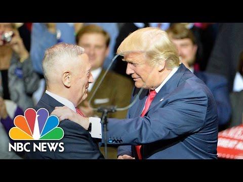 Donald Trump Formally Announces Nomination Of James Mattis As Secretary Of Defense | NBC News