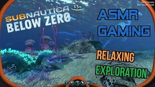 ASMR Gaming | Subnautica Below Zero Relaxing Exploration ????Mechanical Keyboard Sounds + Whispering????????