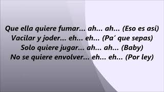 Quiere Fumar - LETRA - Nio Garcia Ft Casper & Darell