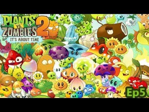 PLants vs Zombies 2 Ep5 - El primer boss!!!