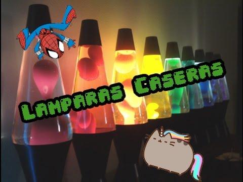 Como hacer una lampara de lava casera youtube - Como hacer una lampara ...
