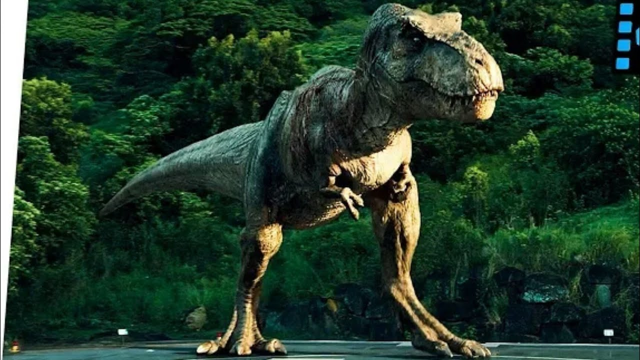 T Rex Final Roar Ending Scene Jurassic World 2015 Movie Clip Youtube