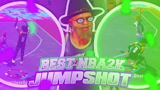 LAST OFFICIAL BEST JUMPSHOT OF NBA 2K18   A GLITCHED JUMPSHOT FOR GREENLIGHTS ON ANY ARCHETYPE !