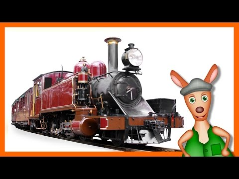 TRAINS FOR CHILDREN: Train videos for children. Kids Videos. Preschool and Kindergarten learning.
