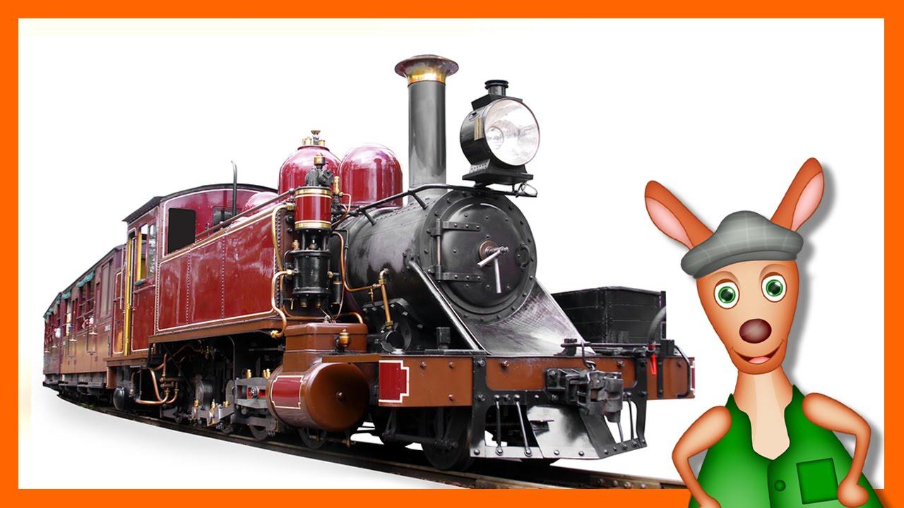 TRAINS FOR CHILDREN: Train Videos For Children. Kids