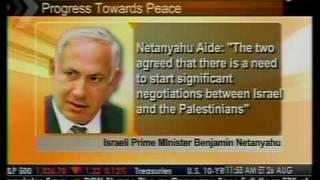Update - Middle East Peace Talks Progress - Bloomberg