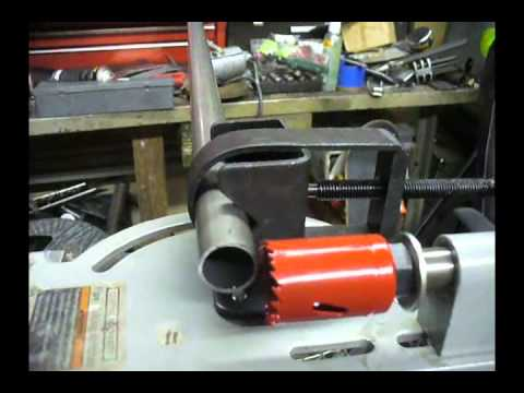 Harbor Freight Tubing Notcher Modifications