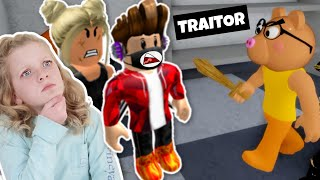 Playing PIGGY as the TRAITOR • ROBLOX • Randall Family Gaming