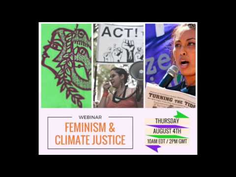 Webinar: Feminism and Climate Justice