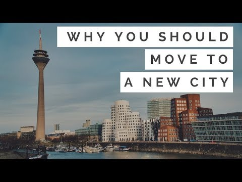 CHANGE | Should I move to a new city? (Dusseldorf/Düsseldorf, Germany, Cinematic, 1080p, Sights)