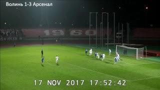 Волынь : Арсенал Киев