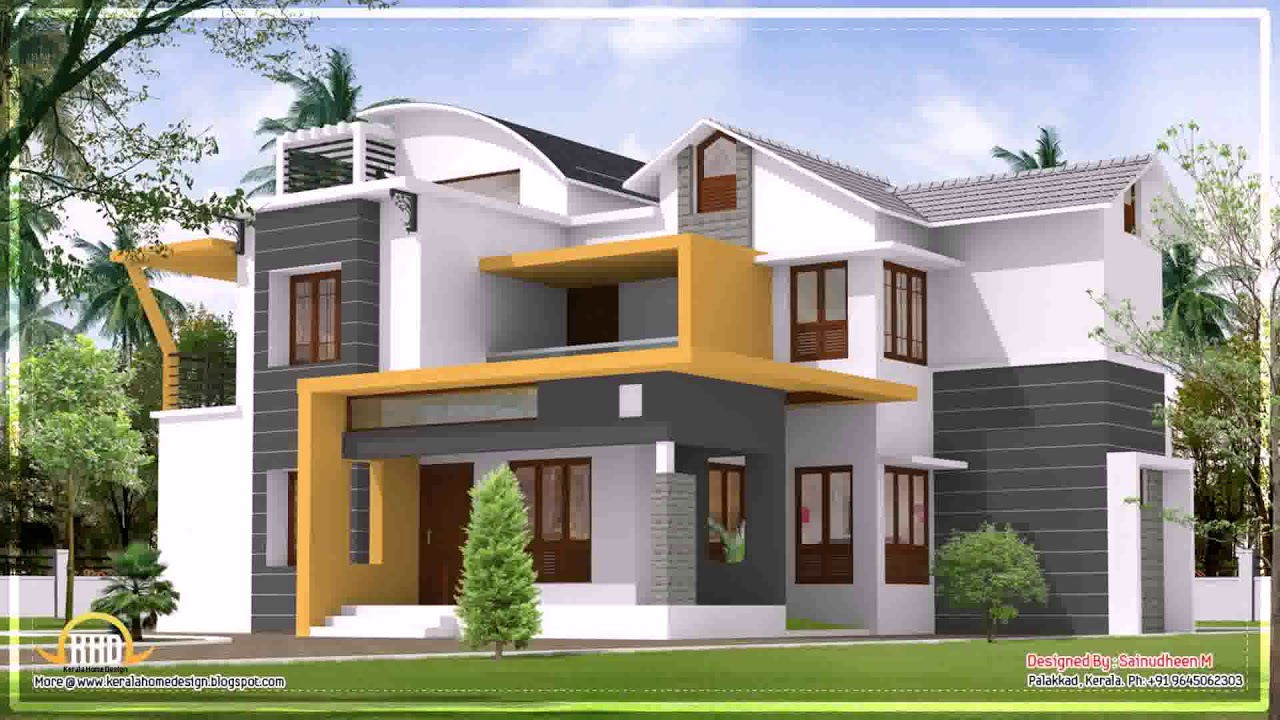 Indian Home Design Outside Look Youtube