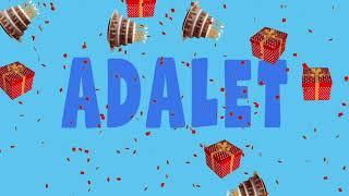 İyi ki doğdun ADALET - İsme Özel Ankara Havası Doğum Günü Şarkısı (FULL VERSİYON) (REKLAMSIZ)