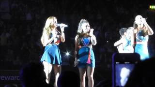 The Saturdays - Issues Live in London Wembley Arena (09/19/2014)